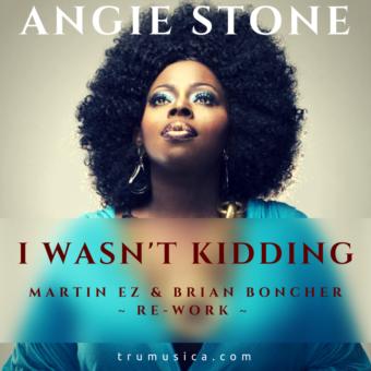 Angie Stone – I Wasn't Kidding (Martin EZ & Brian Boncher Re-Work)