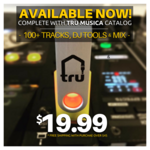 8GB trUSB 3.0 Flash Drive – Complete with the Tru Musica Catalog