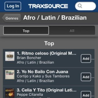 Brian Boncher hits #1 on Traxsource