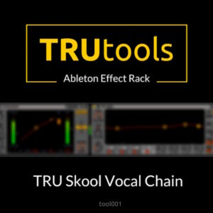 Tru Skool Vocal Chain – Ableton Effect Rack