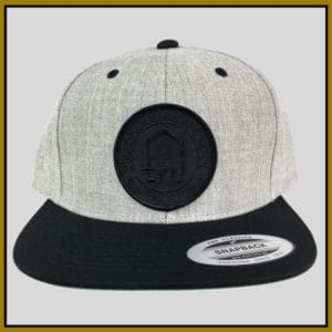 Tru Skool Black on Tweed Snapback