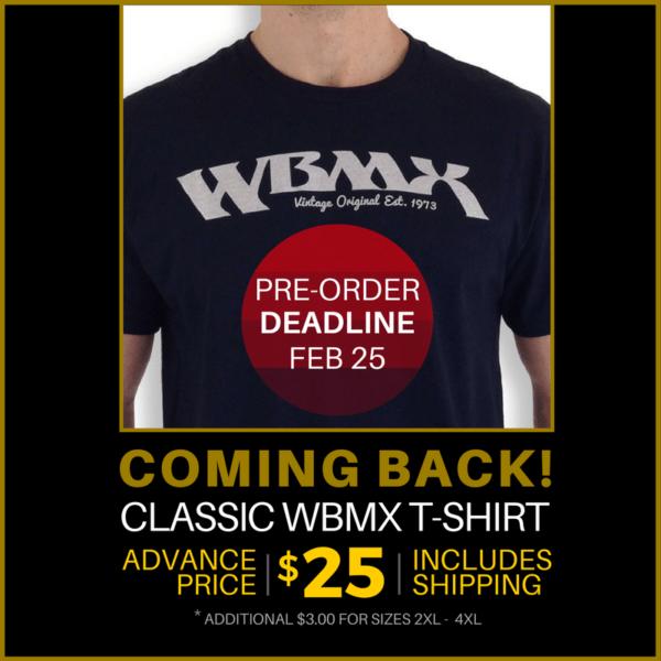 WBMX T – PRE-ORDER