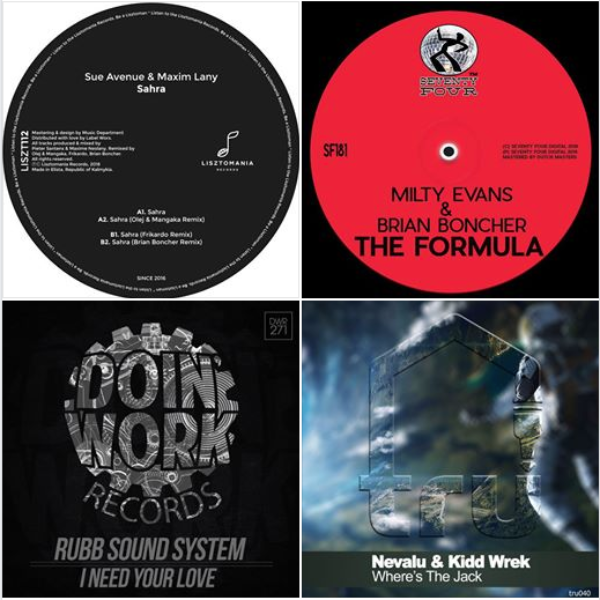 June New Releases Available From TRU Artists