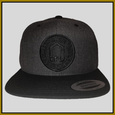 TRU Skool Black-Dark Grey Snapback