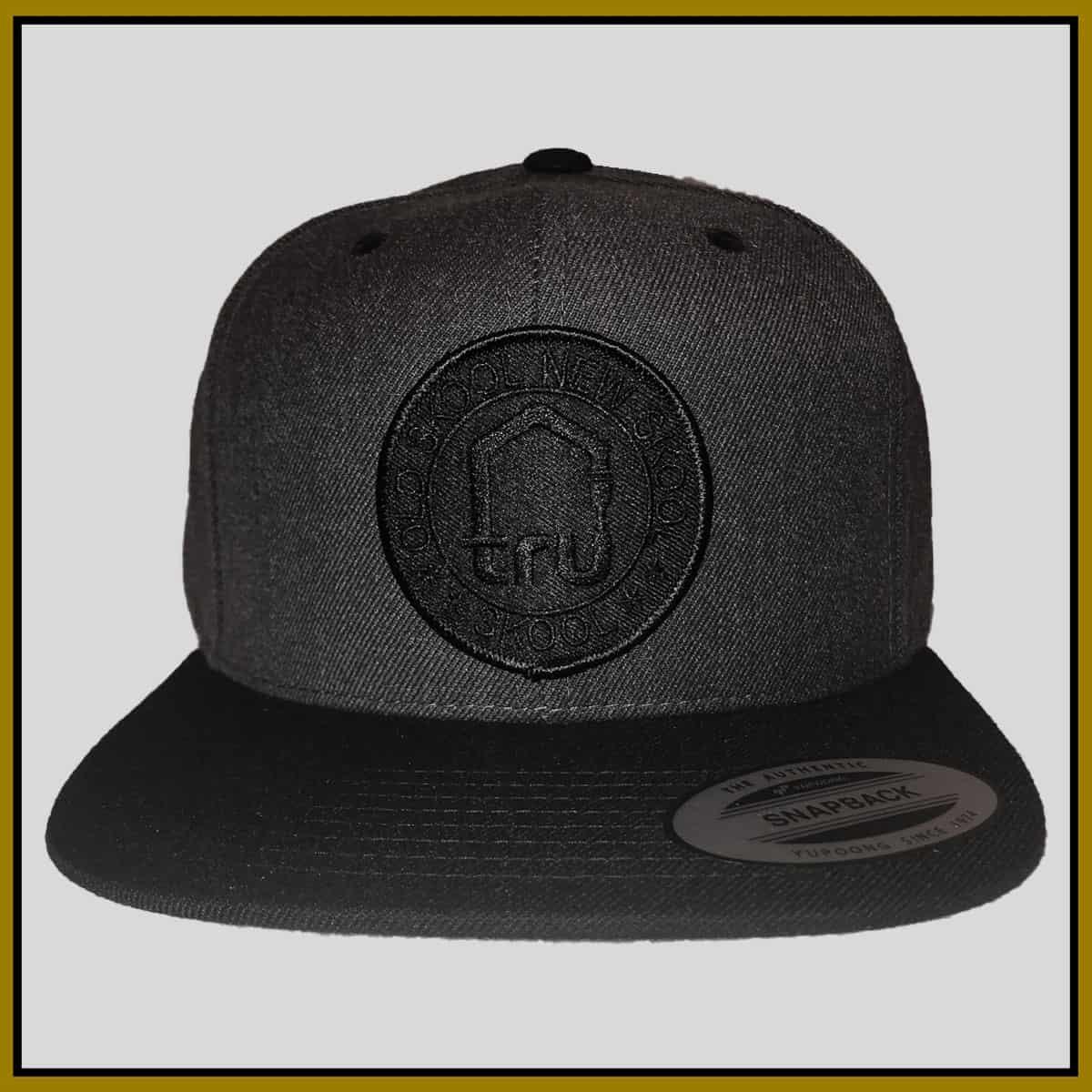 TRU Skool Black/Dark Grey Snapback