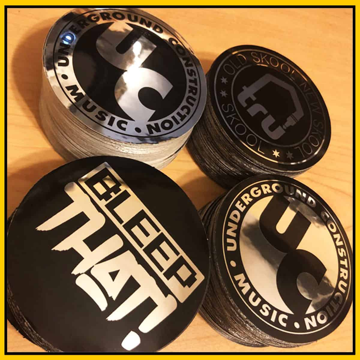 Tru Sticker Pack 2 – UC Icon, Bleep That, Tru Skool