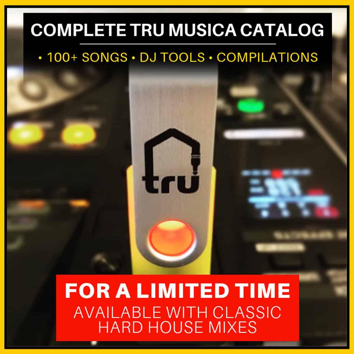 8GB trUSB 3.0 Flash Drive Tru Musica Catalog & More