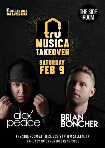 Tru Musica Takeover – Feb 9 McAllen, TX.