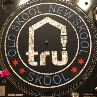 Tru Skool Turntable Slipmats