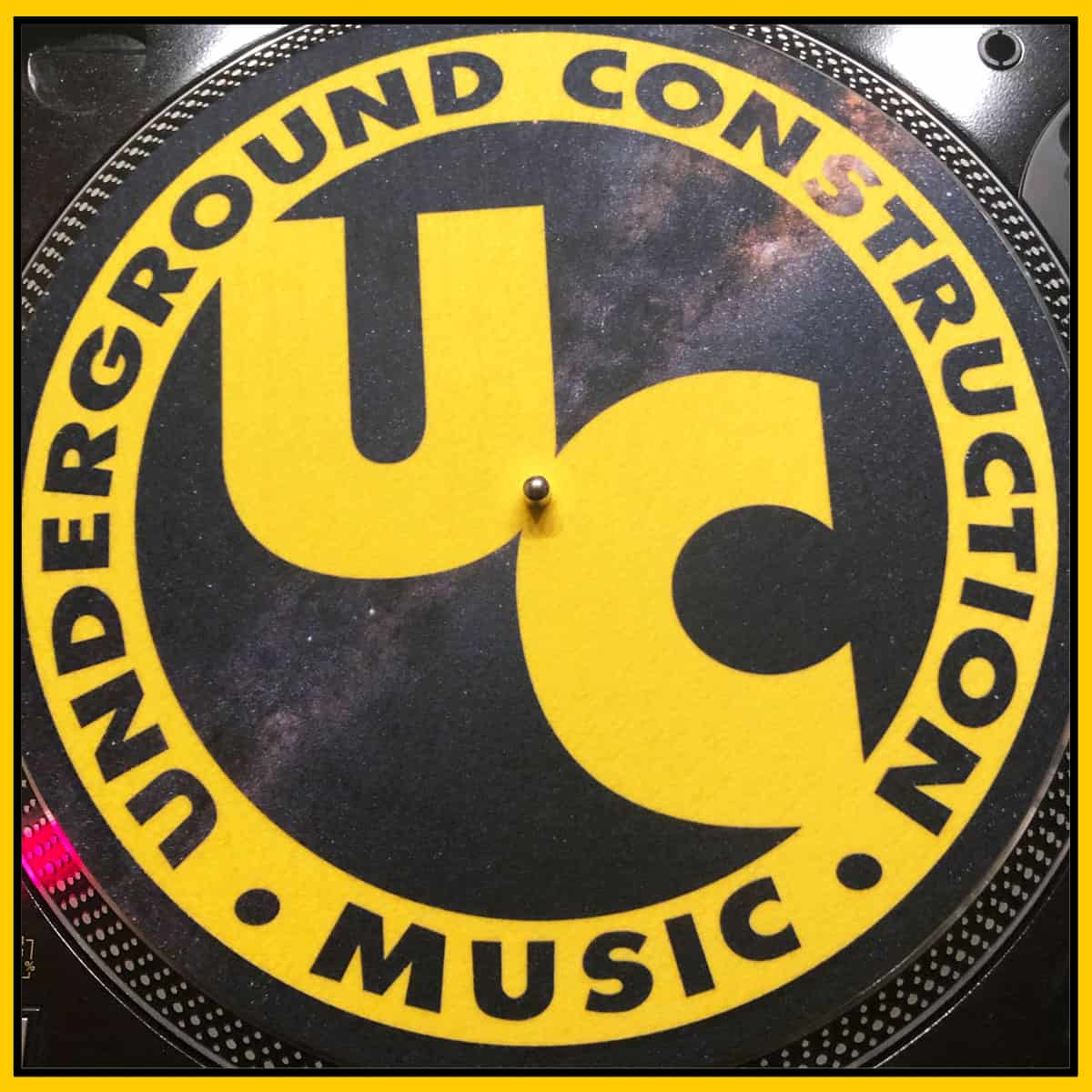 UC Icon Yellow Slipmat Pair