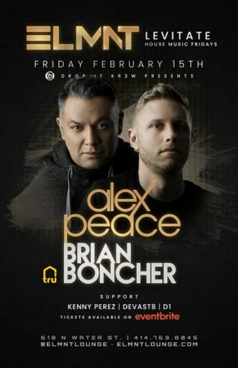 Alex Peace & Brian Boncher – Feb 15 Milwaukee, WI.