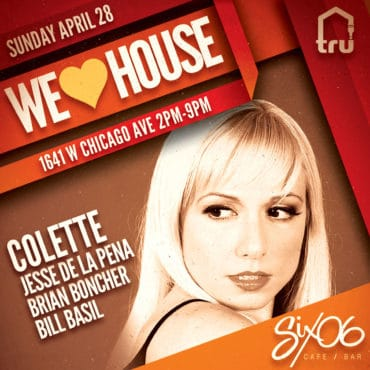 4/28 We Love House | Colette & Jesse De La Pena