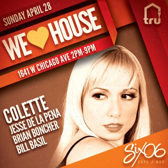 4/28 We Love House   Colette & Jesse De La Pena
