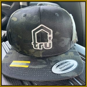 TRU Logo Dark Camo Snapback