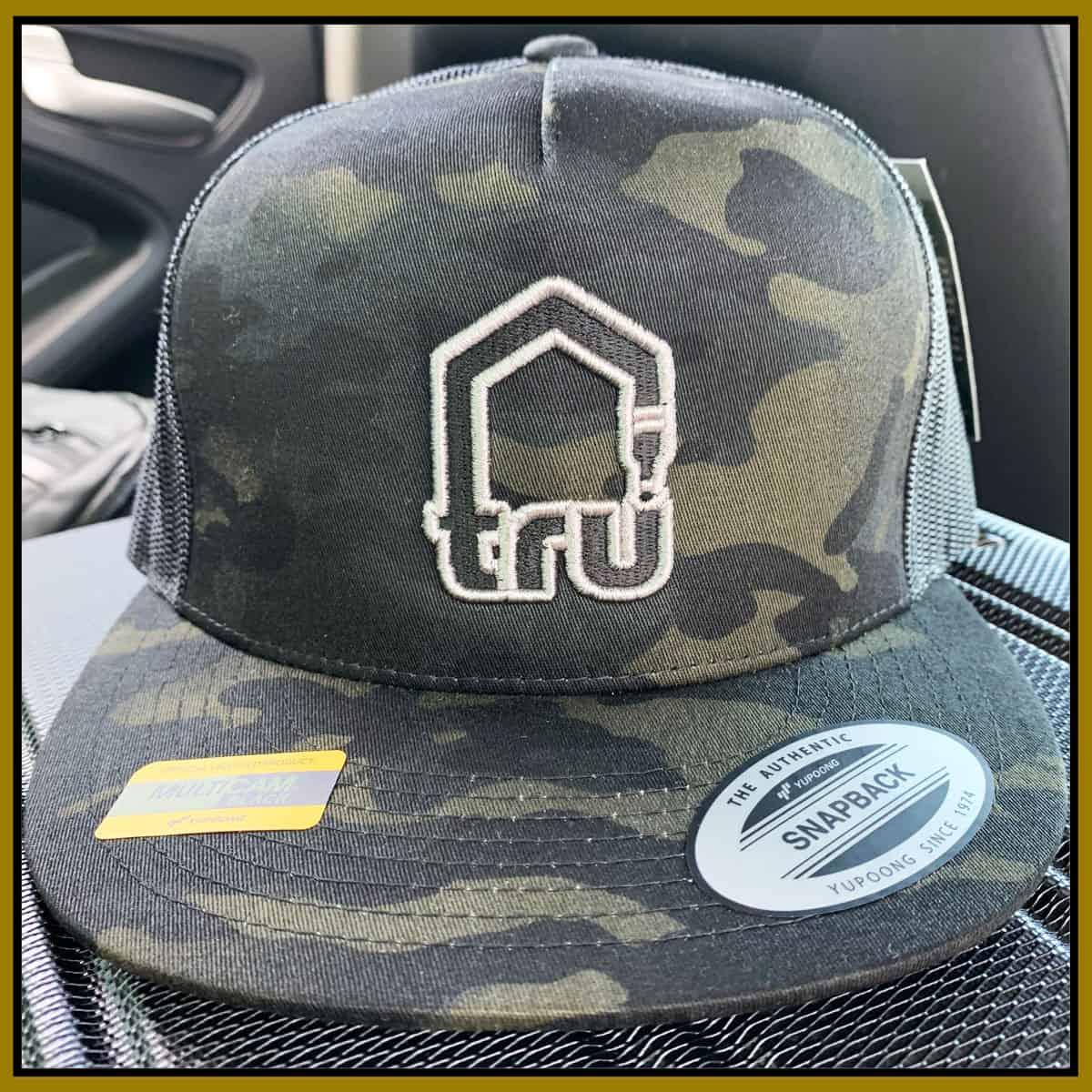 TRU Logo Dark Camo Trucker