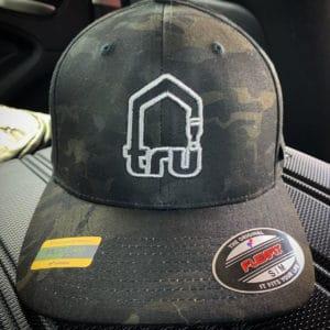 TRU Logo Dark Camo Flexfit