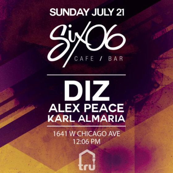 Free Brunch Party featuring Diz, Alex Peace