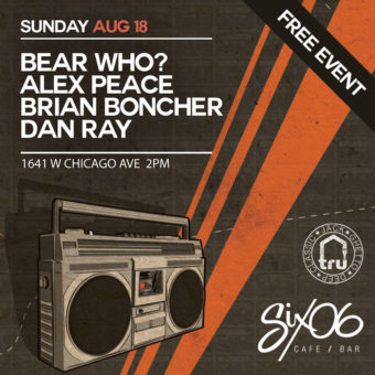 TRU Free Afternoon Party Sun Aug 18 @ Six06