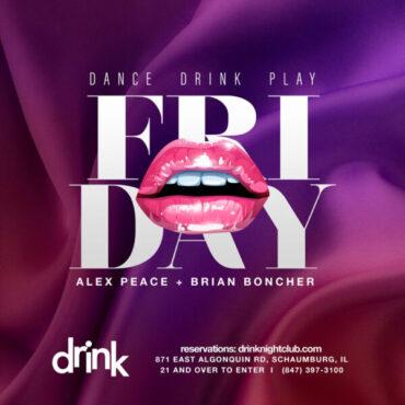 Drink Nightclub Fridays October